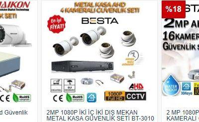 Ahd kamera sistemleri fiyatları