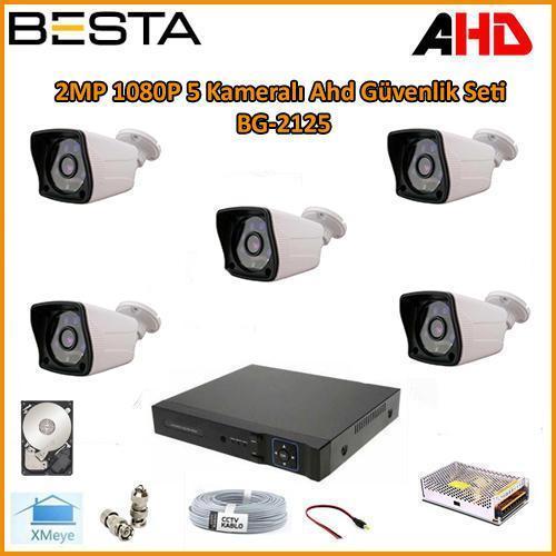 5 kamerali guvenlik sistemi