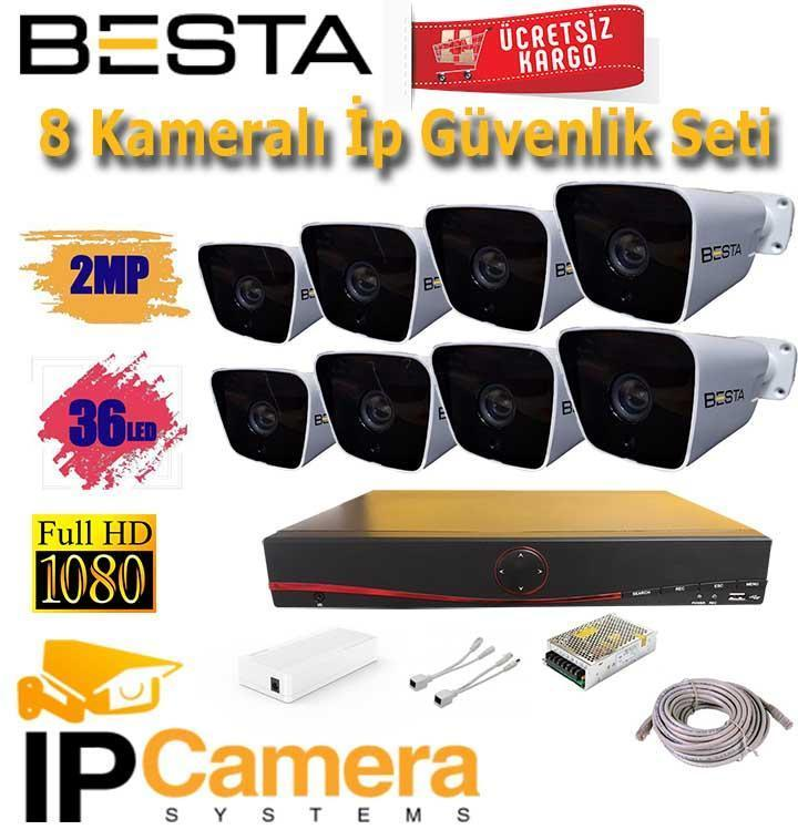 8 Kamerali Guvenlik Kamera Sistemleri