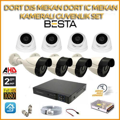 8 Kamerali guvenlik Sistemi